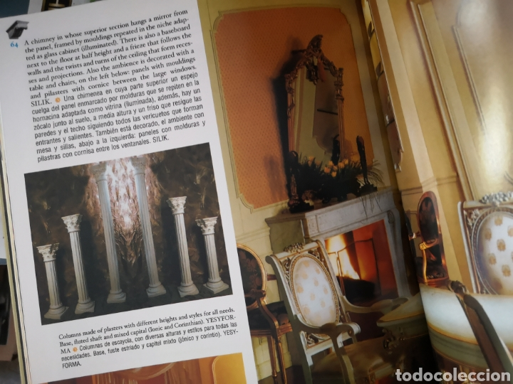 Libros: Ornamentacion, escayolas y sinteticos - 1 tomo - Foto 11 - 268786329