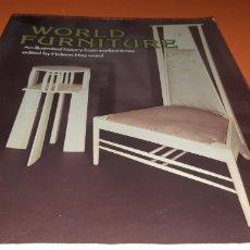 Libros: WORLD FURNITURE EN INGLES, HELENA HAYWARD. Lote 269973963