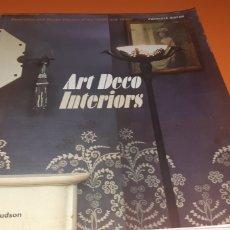 Libros: LIBRO ART DECO INTERIORS EN INGLES. Lote 284442543