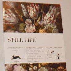 Libros: STILL LIFE - LIBRO DE HOJAS DESPLEGABLES DECORATIVAS - BODEGONES - SCRAPBOOK. Lote 289784978