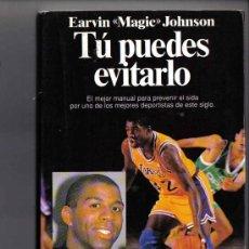 Coleccionismo deportivo: EARVIN MAGIC JOHNSON - TU PUEDES EVITARLO - MANUAL PARA PREVENIR EL SIDA. Lote 24584503
