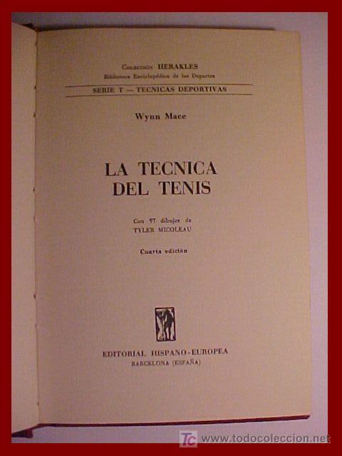 LIBRO TENIS HERAKLES (Coleccionismo Deportivo - Libros de Deportes - Otros)