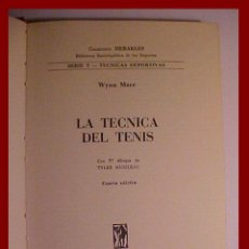 Coleccionismo deportivo: LIBRO TENIS HERAKLES. Lote 26496553