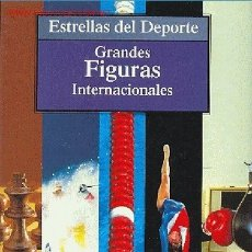 Coleccionismo deportivo: ESTRELLAS DEL DEPORTE Nº 10 - GRANDES FIGURAS INTERNACIONALES. Lote 24910478