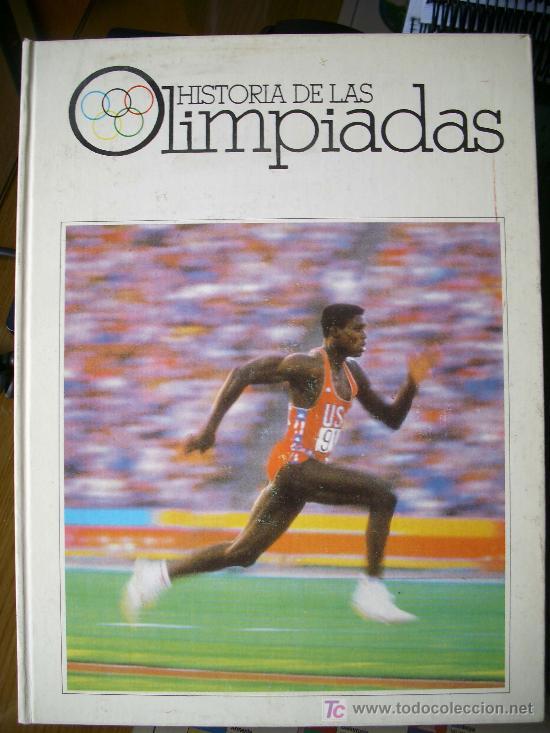 HISTORIA DE LAS OLIMPIADAS (1990) (Coleccionismo Deportivo - Libros de Deportes - Otros)