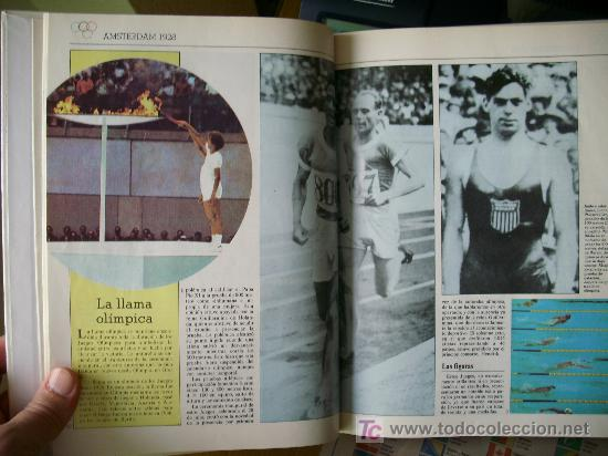 Coleccionismo deportivo: HISTORIA DE LAS OLIMPIADAS (1990) - Foto 2 - 26525053