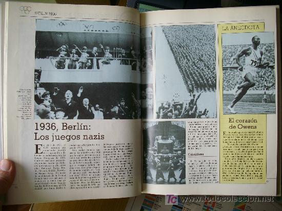 Coleccionismo deportivo: HISTORIA DE LAS OLIMPIADAS (1990) - Foto 3 - 26525053
