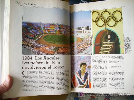 Coleccionismo deportivo: HISTORIA DE LAS OLIMPIADAS (1990) - Foto 8 - 26525053