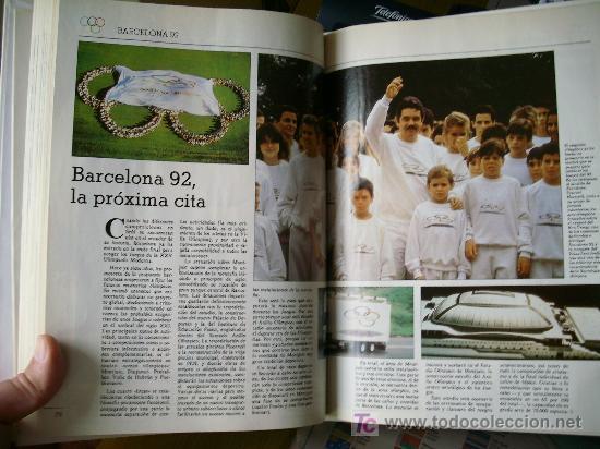 Coleccionismo deportivo: HISTORIA DE LAS OLIMPIADAS (1990) - Foto 10 - 26525053