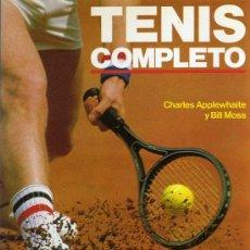 Coleccionismo deportivo: TENIS COMPLETO - CHARLES APPLEWHAITE Y BILL MOSS - ED. HISPANO EUROPEA 1992. Lote 27085149