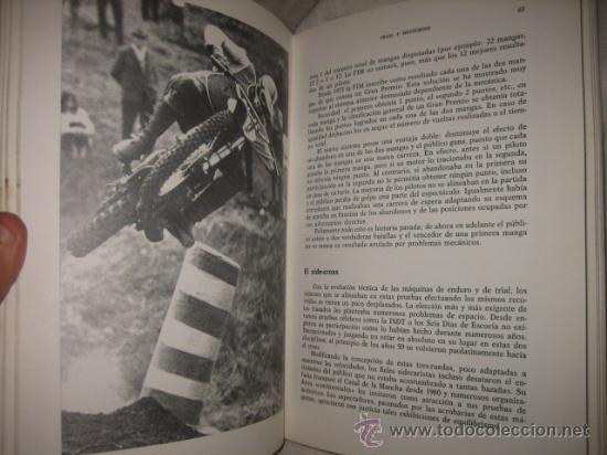 Coleccionismo deportivo: TODO SOBRE TRIAL +MOTOCROSS BERNARD JONZIER EDICIONES CEAC 1980 - Foto 4 - 26139300