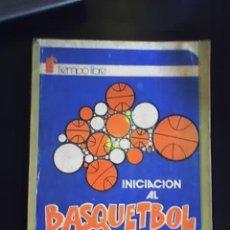 Coleccionismo deportivo: INICIACION AL BASQUET, POR HÉCTOR ORESTE CALDERÓN - TIEMPO LIBRE EDITOR - CHILE. Lote 25679431