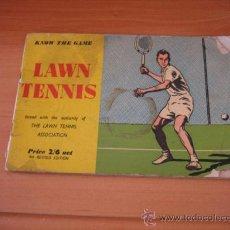 Coleccionismo deportivo: LAWN TENNIS 1956 . Lote 19616711