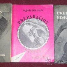 Coleccionismo deportivo: PREPARACIÓN FÍSICA 3T POR AUGUSTO PILA TELEÑA DE RUBIO Y CASTRO SL EN MADRID 1976. Lote 26649105