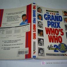 Coleccionismo deportivo: THE GRAND PRIX WHO'S WHO STEVE SMALL FORMULA 1 QUIEN ES QUIEN EN INGLÉS 1996 RM43996. Lote 21928055