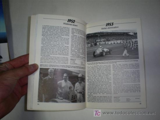 Coleccionismo deportivo: 40 Años de Silverstone Years The Home os British Motor Racing en Inglés RAY HUTTON 1988 RM46105 - Foto 3 - 21019542