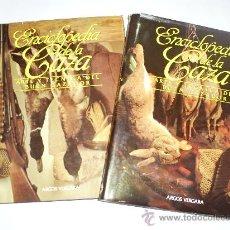 Coleccionismo deportivo: ENCICLOPEDIA DE LA CAZA ARTE Y TÉCNICA DEL BUEN CAZADOR 2 TOMOS ARGOS 1986 RM40869. Lote 27182704