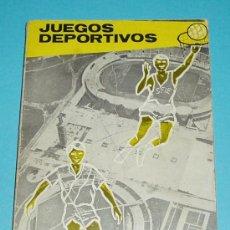 Coleccionismo deportivo: JUEGOS DEPORTIVOS. MICHEL GALLANT. TRADUCCIÓN DE A. LUPO CANALETA. Lote 22645902