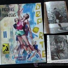 Coleccionismo deportivo: LIBRO FIGURAS FAMOSAS DEL DEPORTE II - ENTREVISTAS FICHAS ANÉCDOTAS FOTOS DEPORTISTAS BIOGRAFÍA. Lote 27062304