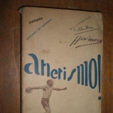 Coleccionismo deportivo: ATLETISMO (VOL. 3) LANZAMIENTOS COMENTARIO DEL REGLAMENTO CAMPOS DEPORTIVOS TOLEDO 1930. Lote 24154805