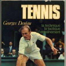 Coleccionismo deportivo: GEORGES DENIAN : TENNIS - EN FRANCÉS (1974) . Lote 26254410