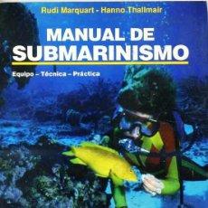 Coleccionismo deportivo: MANUAL DE SUBMARINISMO (1993) . Lote 26254466