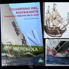 Coleccionismo deportivo: LIBRO CUADERNO DEL NAVEGANTE VALENCIA DESAFÍO EN MAR NAVEGACIÓN BARCO DEPORTE VELA COPA AMÉRICA. Lote 26411301