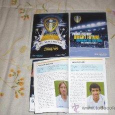 Coleccionismo deportivo: LOTE 3 HANDBOOKS DEL LEEDS UNITED (INGLATERRA) (VER RELACIÓN). Lote 27043741