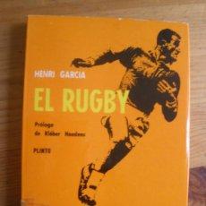 Coleccionismo deportivo: RUGBY. HENRI GARCIA. COMITE OLIMICO ESPAÑOL. 1963 178 PAG. Lote 27743963