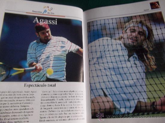 Coleccionismo deportivo: ESTRELLAS DEL DEPORTE-RAQUETAS DE ORO-80 PAGINAS-280X220MM-1997-SANTANA-ORANTES-BORG-LENDL-ETC. - Foto 6 - 27830032