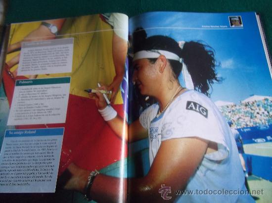 Coleccionismo deportivo: ESTRELLAS DEL DEPORTE-RAQUETAS DE ORO-80 PAGINAS-280X220MM-1997-SANTANA-ORANTES-BORG-LENDL-ETC. - Foto 4 - 27830032