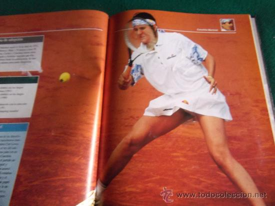 Coleccionismo deportivo: ESTRELLAS DEL DEPORTE-RAQUETAS DE ORO-80 PAGINAS-280X220MM-1997-SANTANA-ORANTES-BORG-LENDL-ETC. - Foto 3 - 27830032