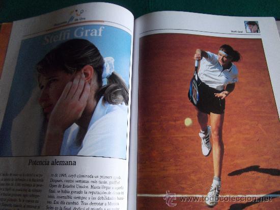 Coleccionismo deportivo: ESTRELLAS DEL DEPORTE-RAQUETAS DE ORO-80 PAGINAS-280X220MM-1997-SANTANA-ORANTES-BORG-LENDL-ETC. - Foto 2 - 27830032