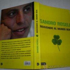 Coleccionismo deportivo: BIENVENIDO AL MUNDO REAL SANDRO ROSDELL 2006 RM51597. Lote 28065521