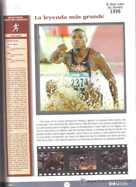 Coleccionismo deportivo: EL GRAN LIBRO DEL DEPORTE - ALBUM COMPLETO DE CROMOS - TAPA DURA - Foto 5 - 29172763
