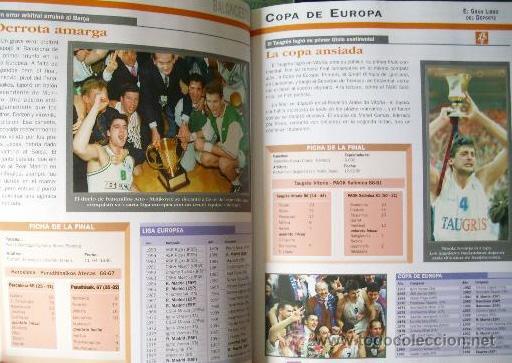 Coleccionismo deportivo: EL GRAN LIBRO DEL DEPORTE - ALBUM COMPLETO DE CROMOS - TAPA DURA - Foto 10 - 29172763