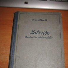 Coleccionismo deportivo: NATACION EVOLUCION DE LOS ESTILOS JAIME CRUELLS EDIT.JUVENTUD 1ª EDICION 1943. Lote 29278583