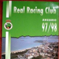Coleccionismo deportivo: ANUARIO DEL REAL RACING CLUB DE SANTANDER 97/98;. Lote 29608951