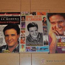 Coleccionismo deportivo - JOSÉ RAMÓN DE LA MORENA LOTE 3 LIBROS. LOS SILENCIOS DEL LARGUERO, DIARIO 2000 Y AQUÍ UNOS AMIGOS. - 30068423