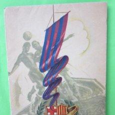 Coleccionismo deportivo: CINCUENTA AÑOS DEL CF BARCELONA , BODAS DE ORO 1899-1949 - COMO NUEVO. Lote 30189350
