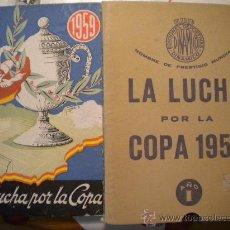 Coleccionismo deportivo: LA LUCHA POR LA COPA 1959.. Lote 30296419