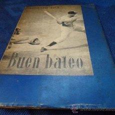 Coleccionismo deportivo: BUEN BATEO. AUGUSTO PILA. PUBLICACIONES DEL COMITE OLIMPICO ESPAÑOL. MADRID, 1965. RUSTICA CON SOLAP. Lote 31250269