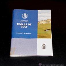Coleccionismo deportivo: REGLAS DE GOLF - REAL FEDERACION ESPAÑOLA DE GOLF - 29 EDICION. Lote 32088422