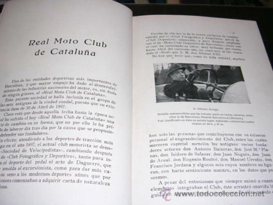 Coleccionismo deportivo: ALBUM DE LAS SOCIEDADES DEPORTIVAS DE BARCELONA 1916 POR EMILIO NAVARRO ILUSTRADO - Foto 5 - 33963883