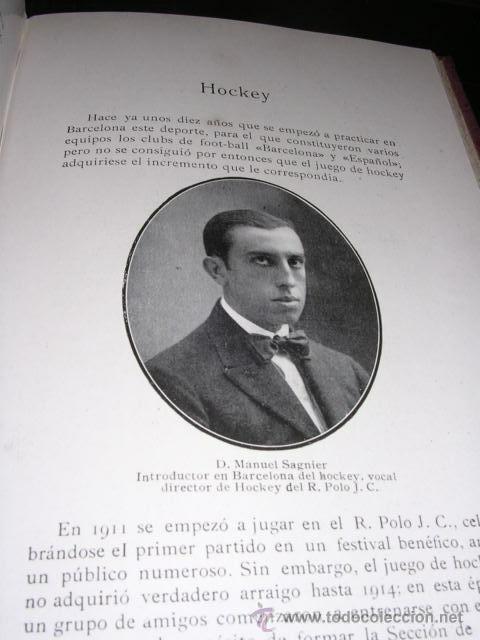 Coleccionismo deportivo: ALBUM DE LAS SOCIEDADES DEPORTIVAS DE BARCELONA 1916 POR EMILIO NAVARRO ILUSTRADO - Foto 10 - 33963883
