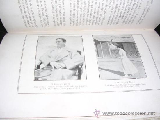 Coleccionismo deportivo: ALBUM DE LAS SOCIEDADES DEPORTIVAS DE BARCELONA 1916 POR EMILIO NAVARRO ILUSTRADO - Foto 11 - 33963883