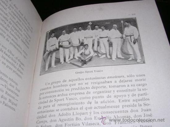 Coleccionismo deportivo: ALBUM DE LAS SOCIEDADES DEPORTIVAS DE BARCELONA 1916 POR EMILIO NAVARRO ILUSTRADO - Foto 12 - 33963883