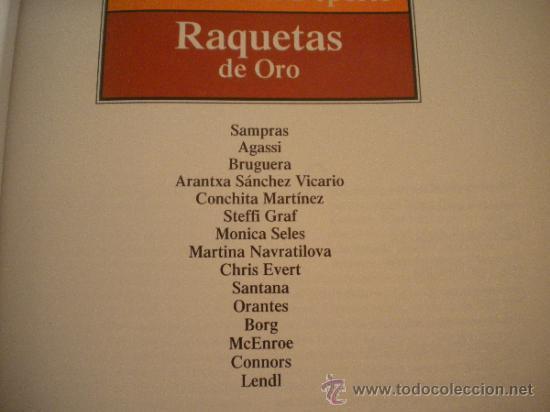 Coleccionismo deportivo: ESTRELLAS DEL DEPORTE NUM. 7 - RAQUETAS DE ORO - GRUPO CORREO 1997 - VER FOTOS - Foto 2 - 32196379