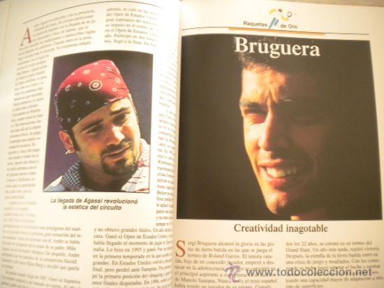 Coleccionismo deportivo: ESTRELLAS DEL DEPORTE NUM. 7 - RAQUETAS DE ORO - GRUPO CORREO 1997 - VER FOTOS - Foto 3 - 32196379
