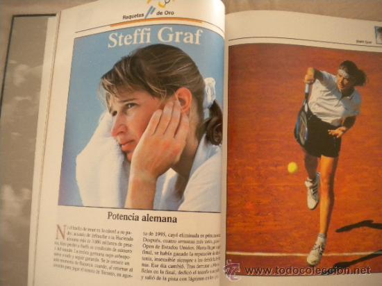 Coleccionismo deportivo: ESTRELLAS DEL DEPORTE NUM. 7 - RAQUETAS DE ORO - GRUPO CORREO 1997 - VER FOTOS - Foto 5 - 32196379